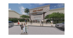 Galleria at Sunset. new food court rendering