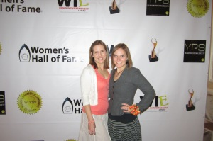 Tiffannie Bond, Imagine's media relations specialist, and Melissa Biernacinski, Imagine's director of media relations